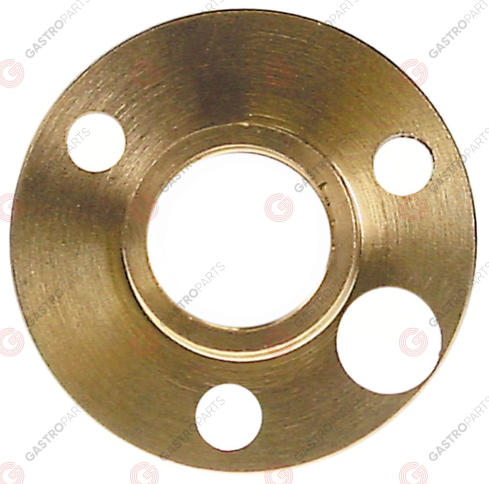 550.858, flange for fan motor ED o 60mm int. o 1 28,5mm