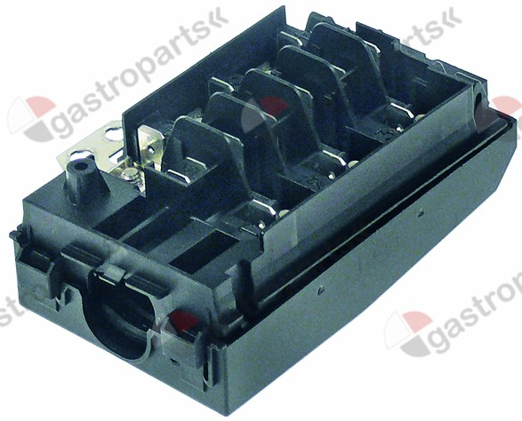 550.960, power terminal block 5-pole contacts 3P+N+PE