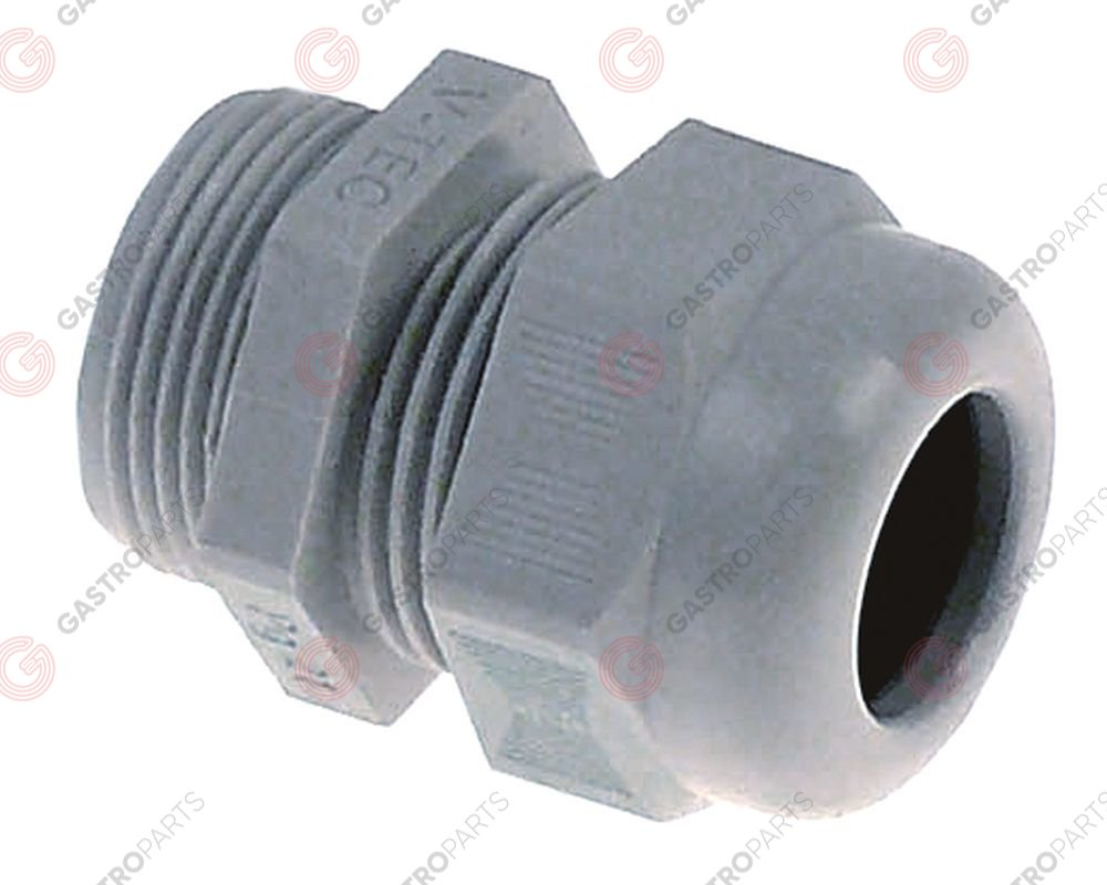 550.973, cable gland PG21 cable o 17mm mounting o 28mm