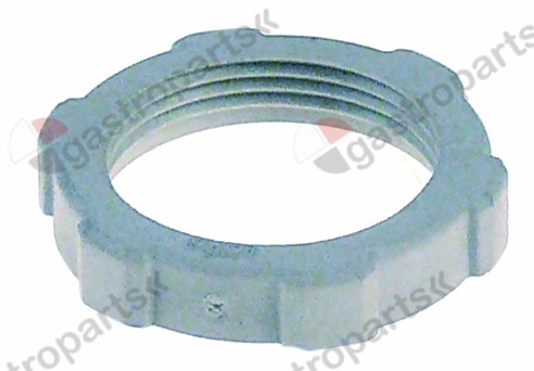 550.974, nut PG21 plastic thickness 7,5mm