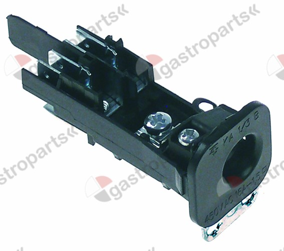 550.976, power terminal block 2-pole max 450V max. 16A
