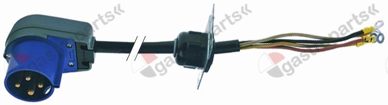 550.978, connecting cable L 1900mm 4-pole with plug