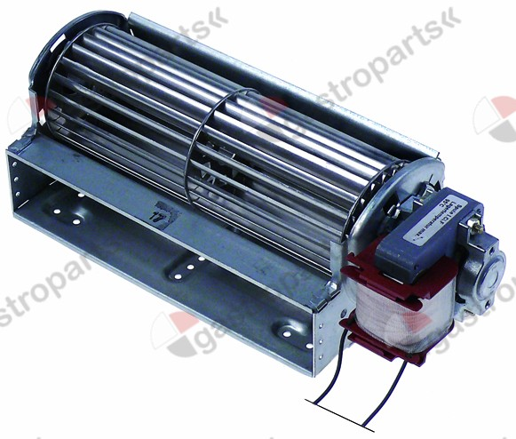 601.004, Replaced by 601453 / cross flow fan roller ø 60mm roller length 180mmmotor position right 22W universal