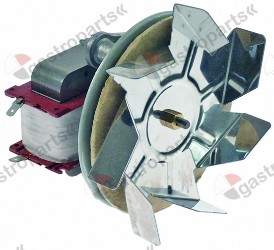 601.184, hot air fan 230V L1 82mm L2 15mm L3 25mm L4 87mm