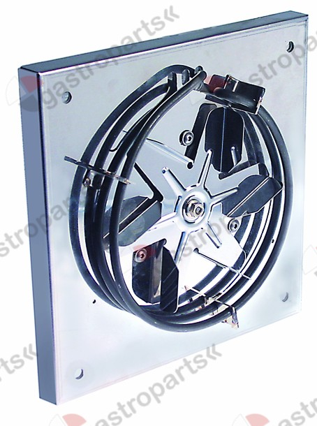 601.257, heater with fan 115/230V 50/60Hz 2400W L 240mm