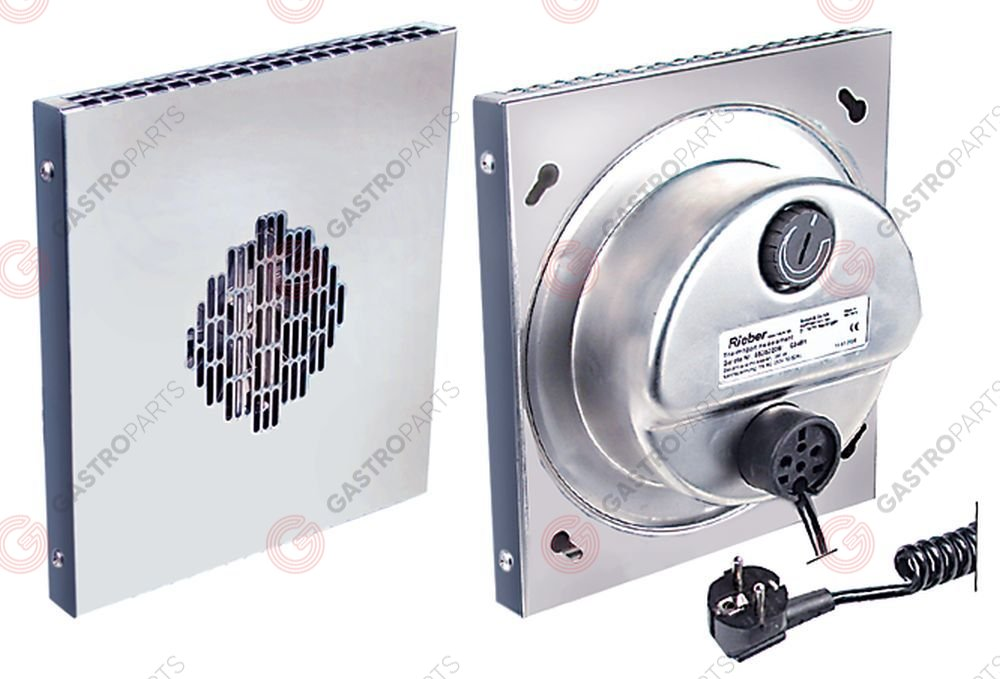 601.269, Replaced by 601521 / heater with fan 230V 50Hz 350W L 270mm W 240mmD 100mm