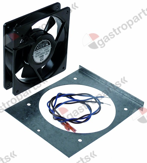 601.460, axial fan L 119 mm W 119 mm H 25 mm 230VAC 50/60H