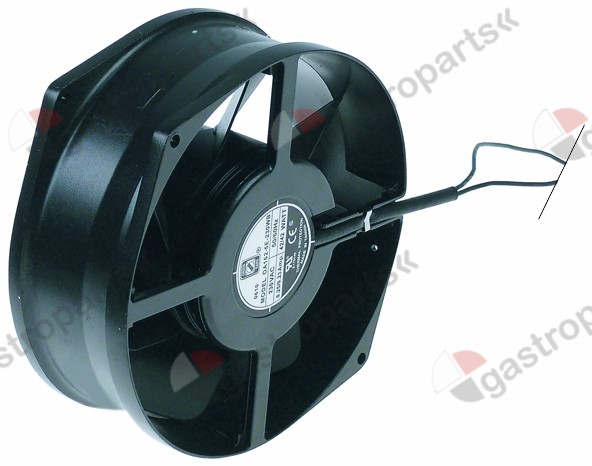 601.469, axial fan L 172mm W 150mm H 55mm 230V AC 50/60Hz