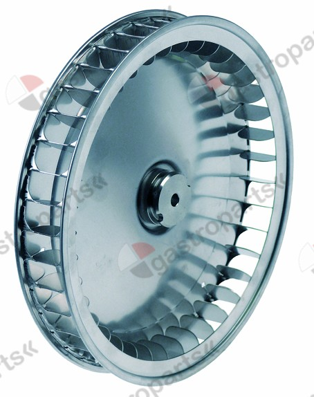 601.489, fan wheel D1 o 197mm H1 32mm vanes 39 D2 o 8mm