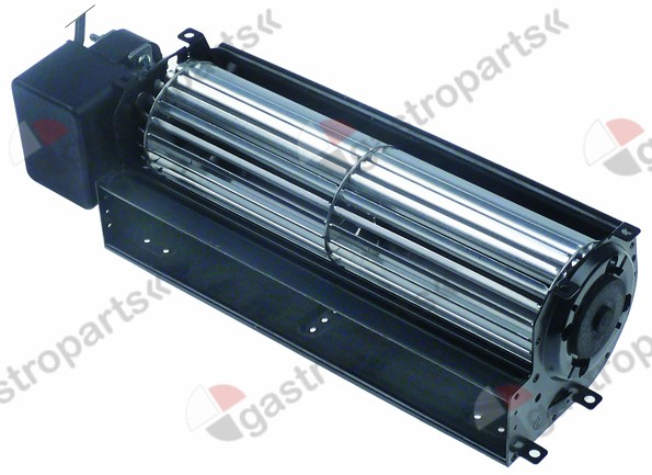 601.642, cross flow fan roller length 240 mm roller o 60 mm