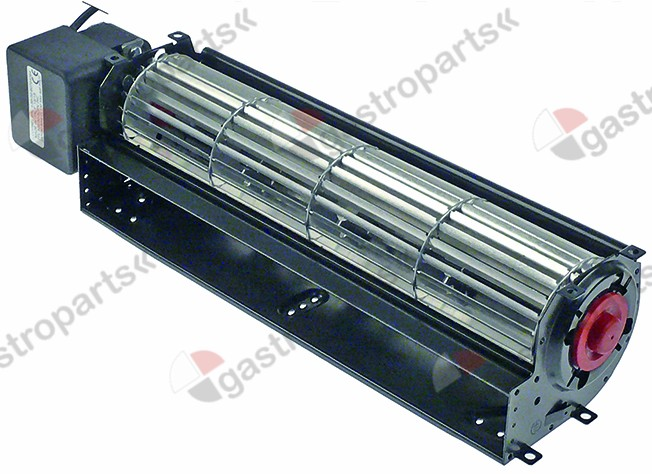 601.644, cross flow fan roller length 300 mm roller o 60 mm