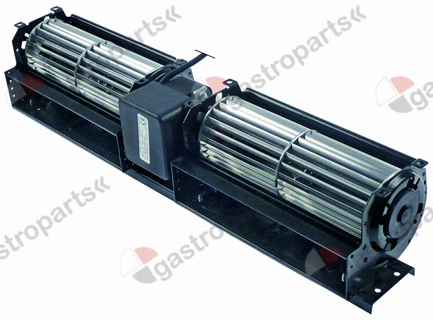 601.645, cross flow fan roller length 2x180mm