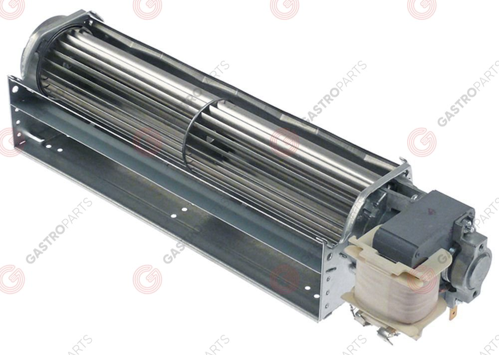 601.899, cross flow fan ebm-papst QLK45/2400-2524 roller ø 45mm roller length 240mm