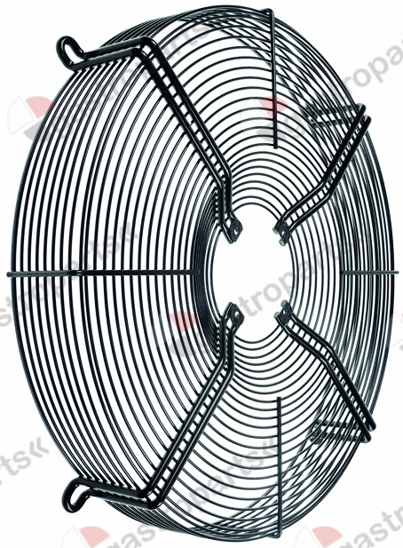 601.953, guard ebm-papst for fan wheel o 500mm o 530mm
