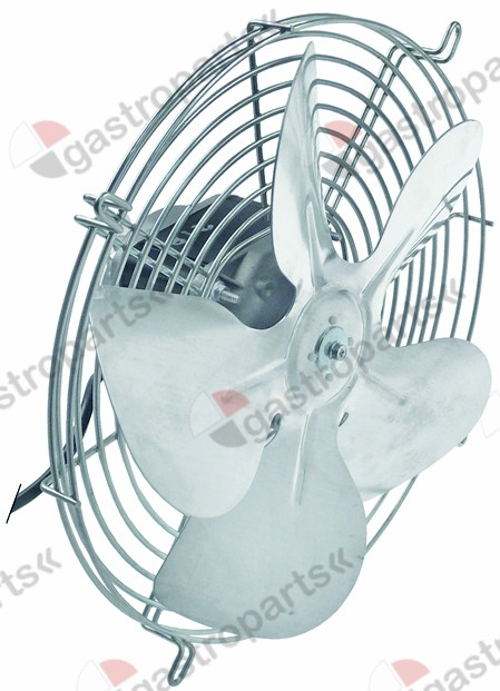 601.996, fan 230V 75W 50/60Hz fan wheel o 250mm
