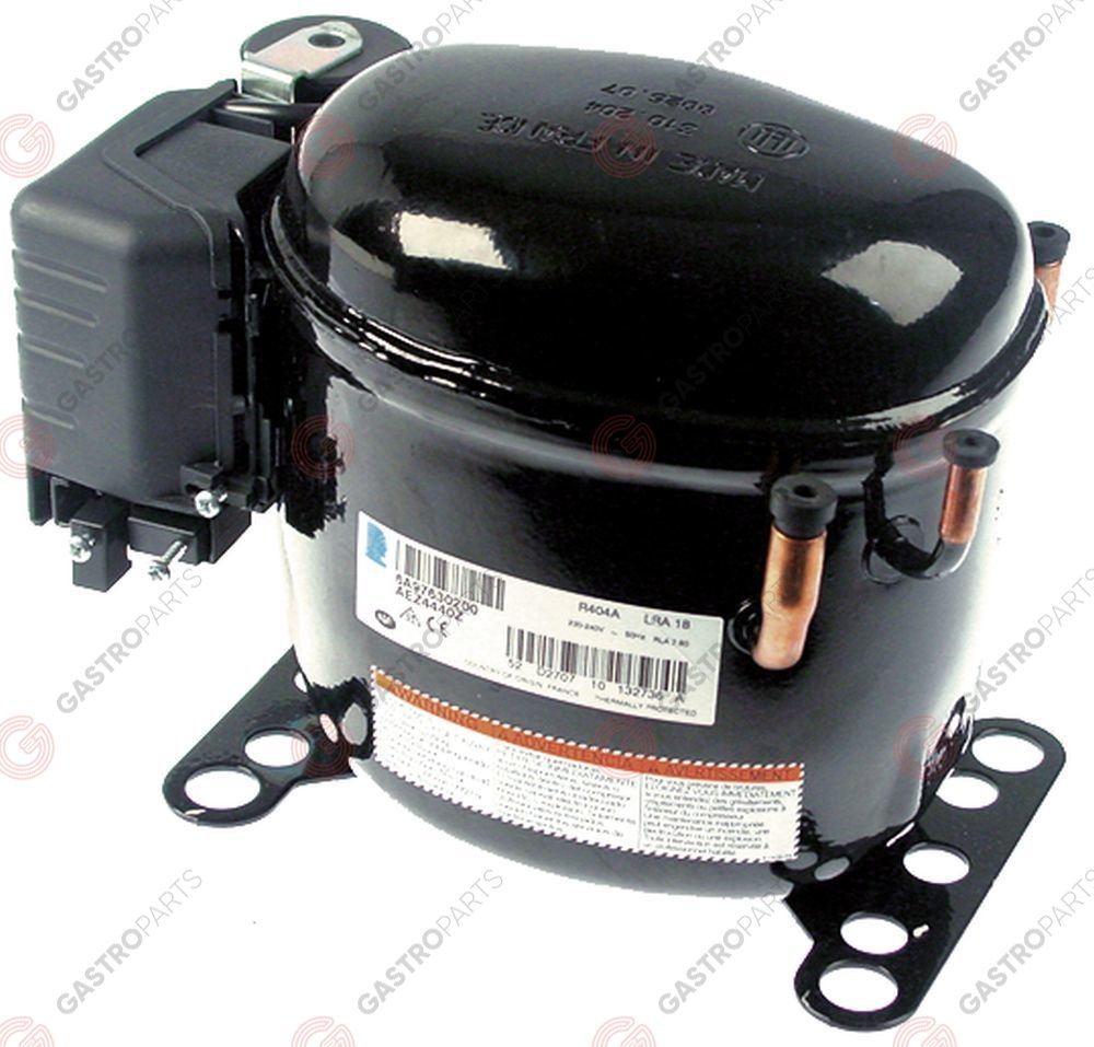 Replaced by 605151 / compressor coolant R404A type AEZ4440Z