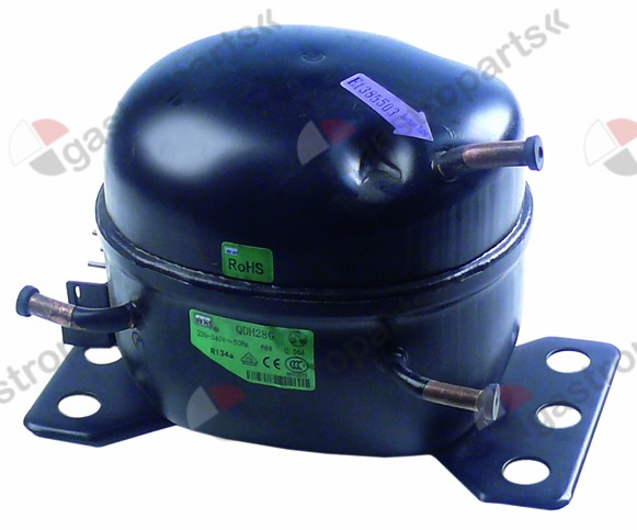 605.121, compressor coolant R134a 230V type QDH28G 50Hz