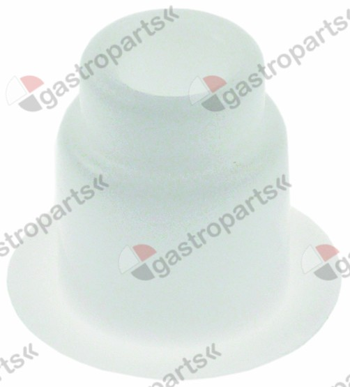 650.214, bush outer for auger W 20,9mm H 27mm o 30mm