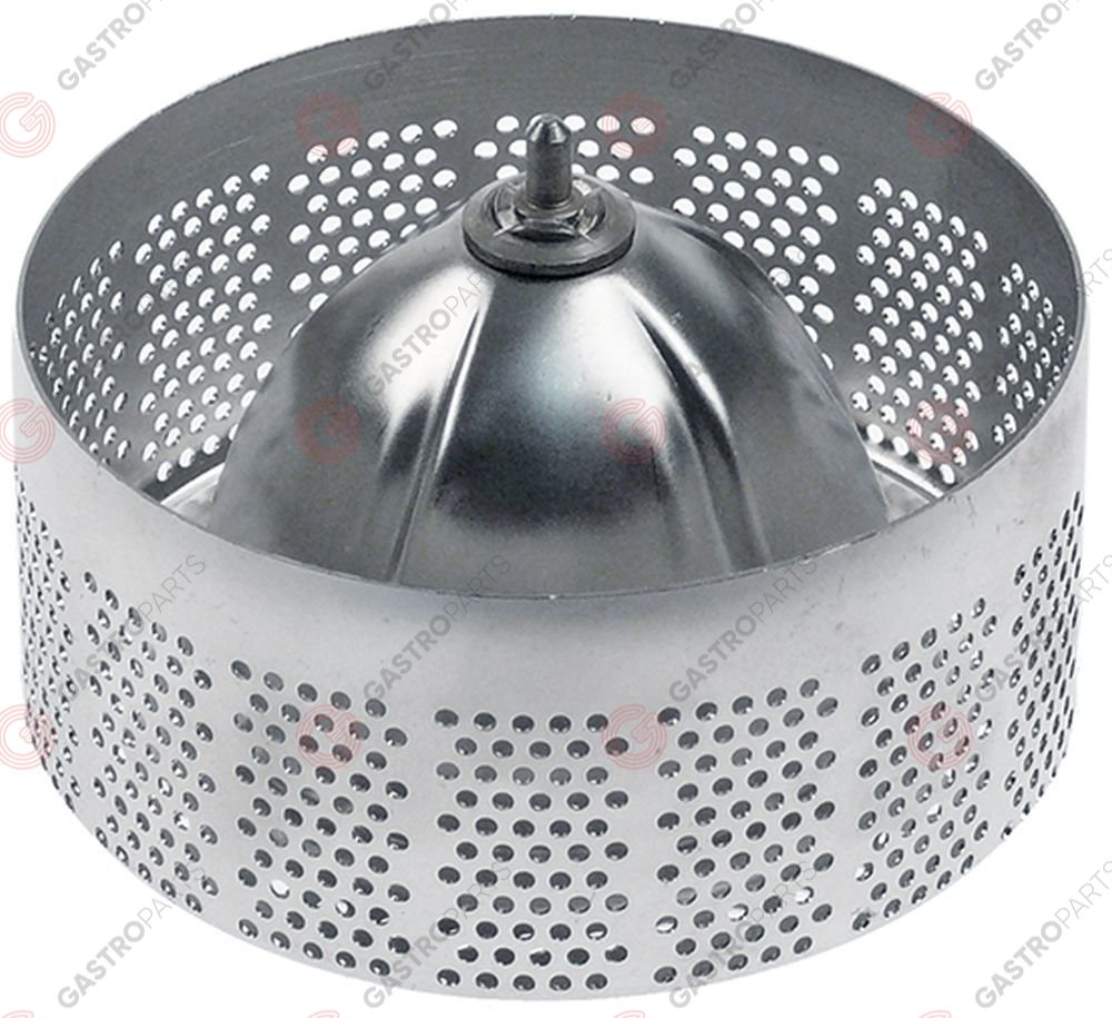 650.219, juicer insert with filter for juice extractor ø 104mm H 48mm stainless steel