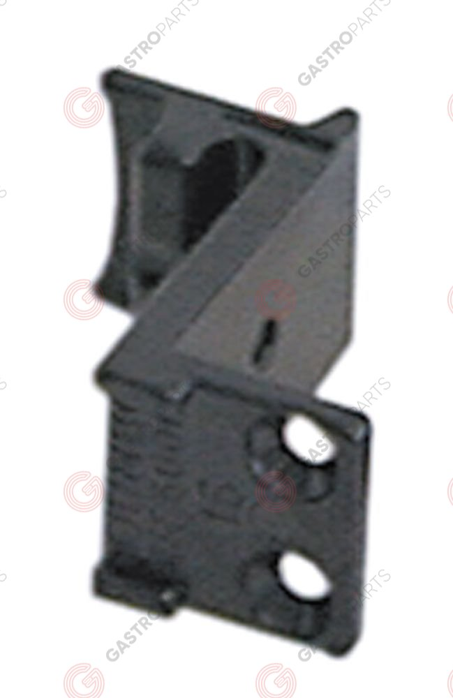 690.057, counter support for off-set 16mm mounting distance 14,25mm W 28mm L 52mm H 49mm
