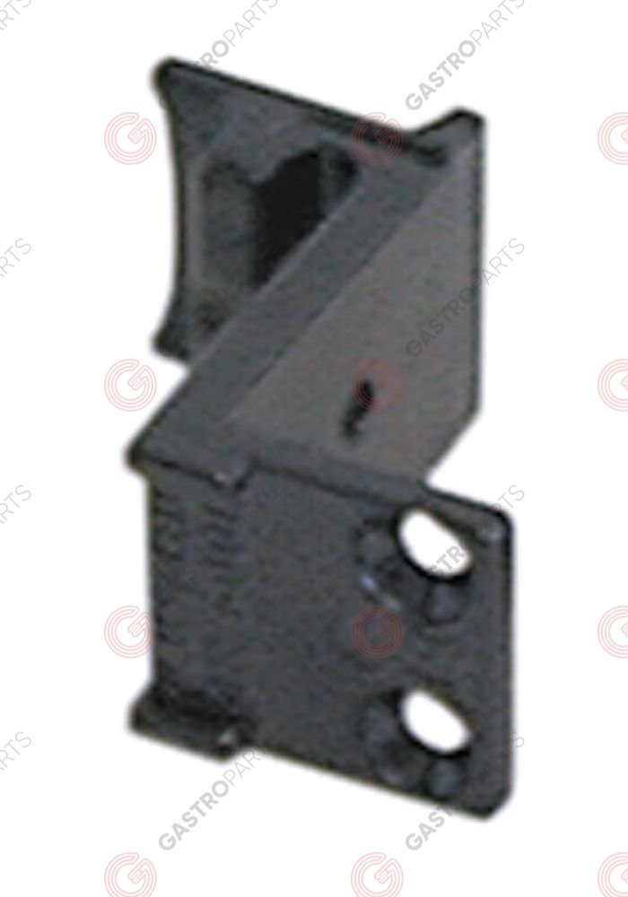 690.058, counter support for off-set 19mm mounting distance 14,25mm W 28mm L 52mm H 50mm
