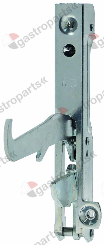 690.156, oven hinge lever length 120mm mounting distance 120mm spring thickness 3,2mm