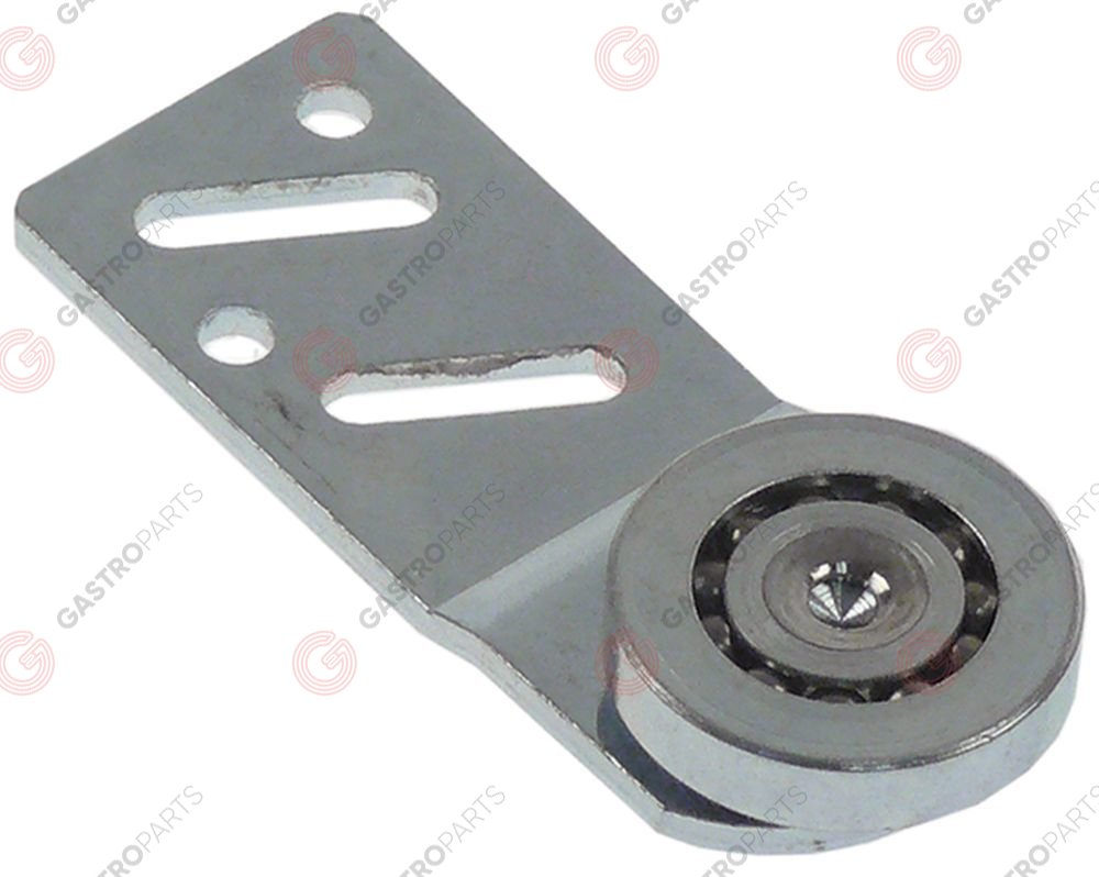 690.353, roller rollero 25mm B1 5,6mm with holder mounting pos. rear bearing ball bearing Qty 1 pcs