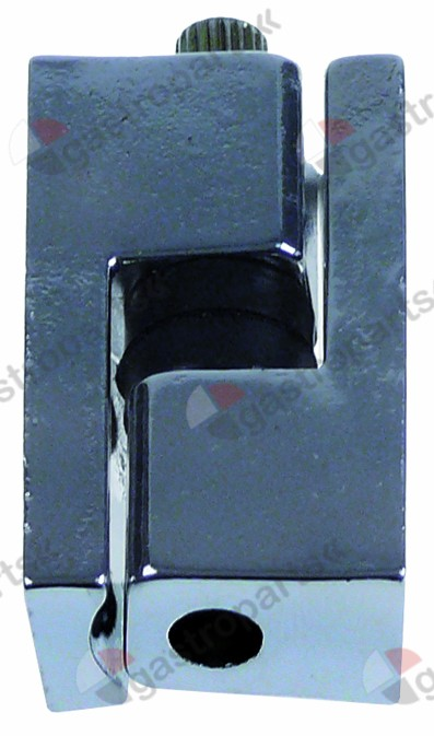 690.384, edgemount hinge series G304 L 50mm W 22mm mounting distance 17mm refrigeration units