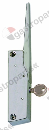 690.413, HANDLE LATCH L 150MM MOUNTING DISTANCE 133MM LOCKABLE REFRIGERATION UNITS G 795