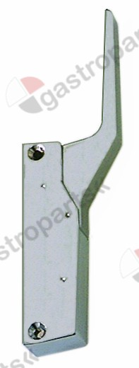 690.414, handle latch L 150mm mounting distance 133mm non lockable refrigeration units G 791