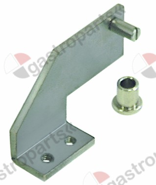 690.521, hinge bearing with bolt mounting pos. upper right