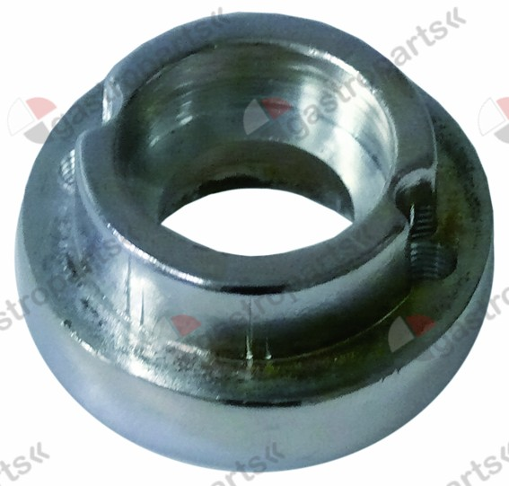 691.212, bush for door handle H 19mm ED o 40mm ID o 16mm mounting distance 30mm