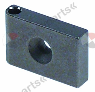 691.284, hinge for glass plate