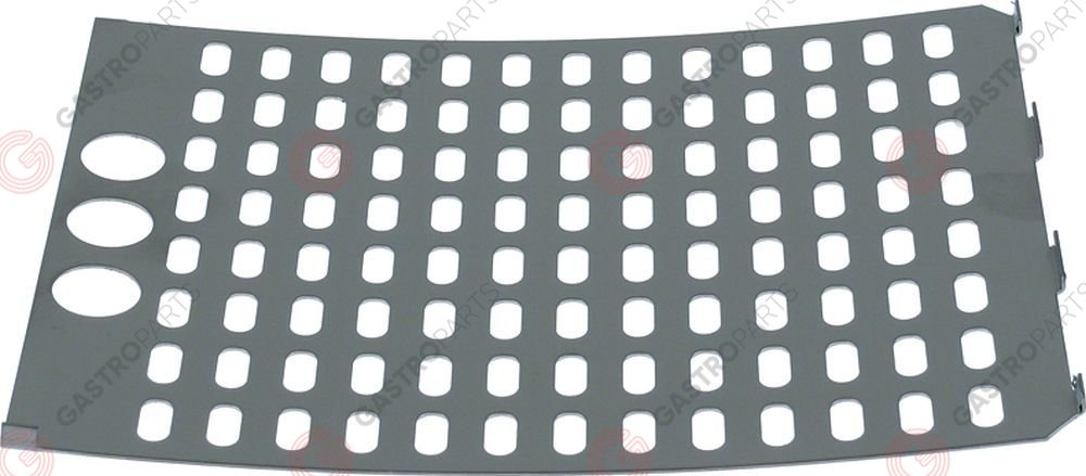 691.300, seperating plate for hot dog machine punched