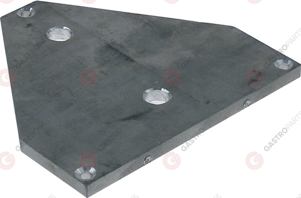 691.302, connection plate for hot dog machine aluminium