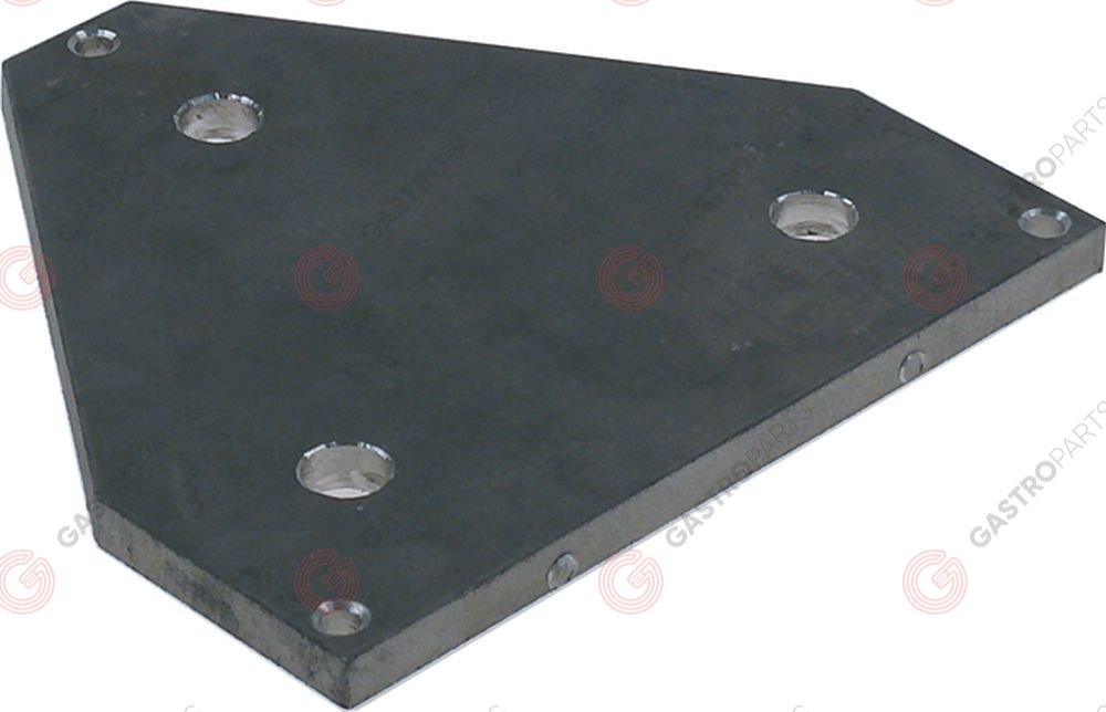 691.303, connection plate for hot dog machine aluminium