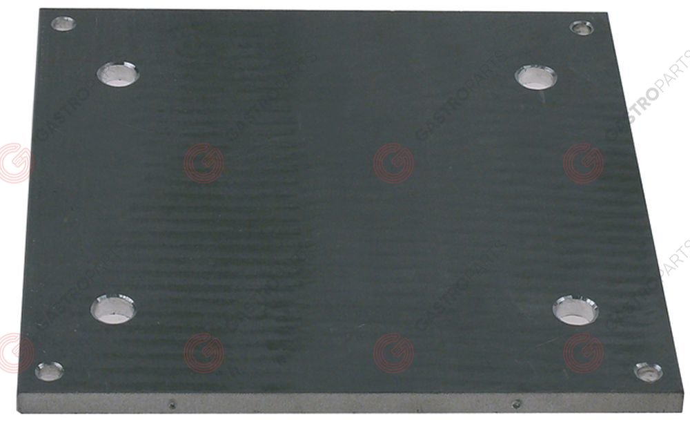 691.304, connection plate for hot dog machine L 195mm