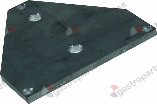 691.305, connection plate for hot dog machine aluminium