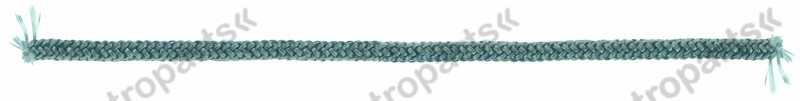 691.326, sealing cord round o 8mm braided Qty by meter