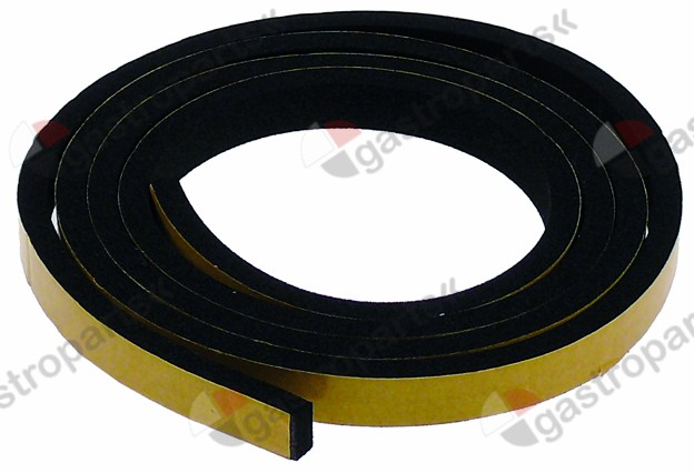 691.329, foam rubber gasket W 10mm thickness 5mm