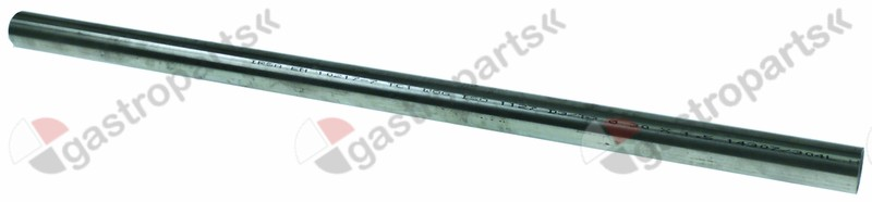 691.372, handle rod tube o 30,5mm thickness 1,5mm L 660mm