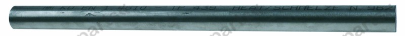 691.373, handle rod tube o 30,5mm thickness 1,5mm L 460mm