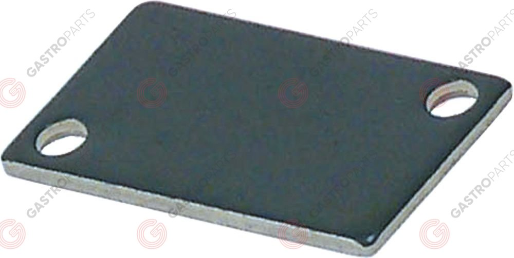 691.391, holding plate for micro-switch L 28mm W 16mm