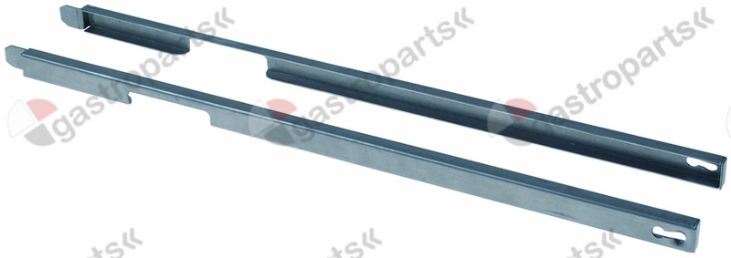691.417, guide U-shape L 465mm mounting pos. left/right