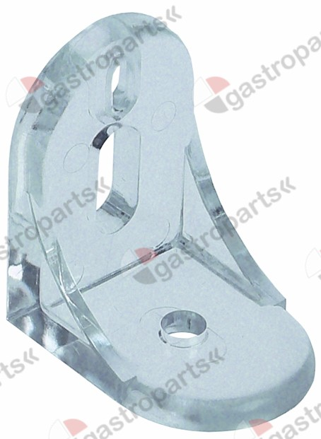691.497, fastening angle for glass plate