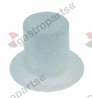 691.498, bush for glass plate o 7,5mm