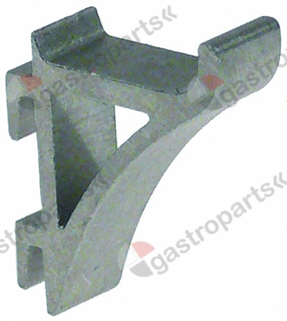 692.398, shelf support L1 6mm L2 26mm W 9mm H 38mm