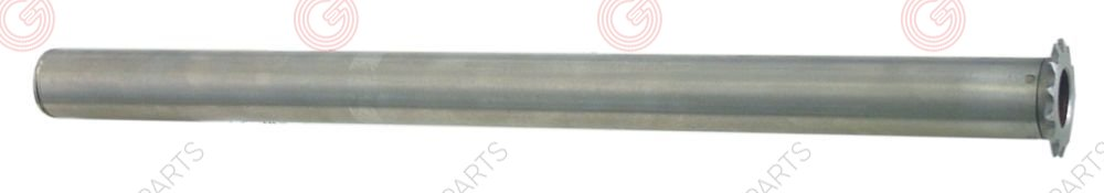 693.059, pipe with gear wheel for roller grill