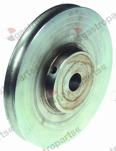 693.925, round belt pulley disc o 110 mm single