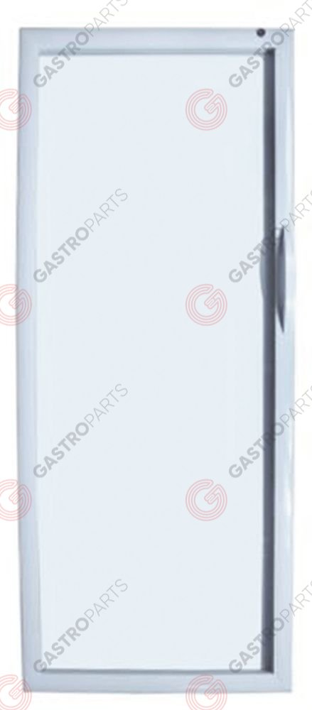 694.250, Door right suitable for fridge W 670mm H 1570mm thickness 40mm